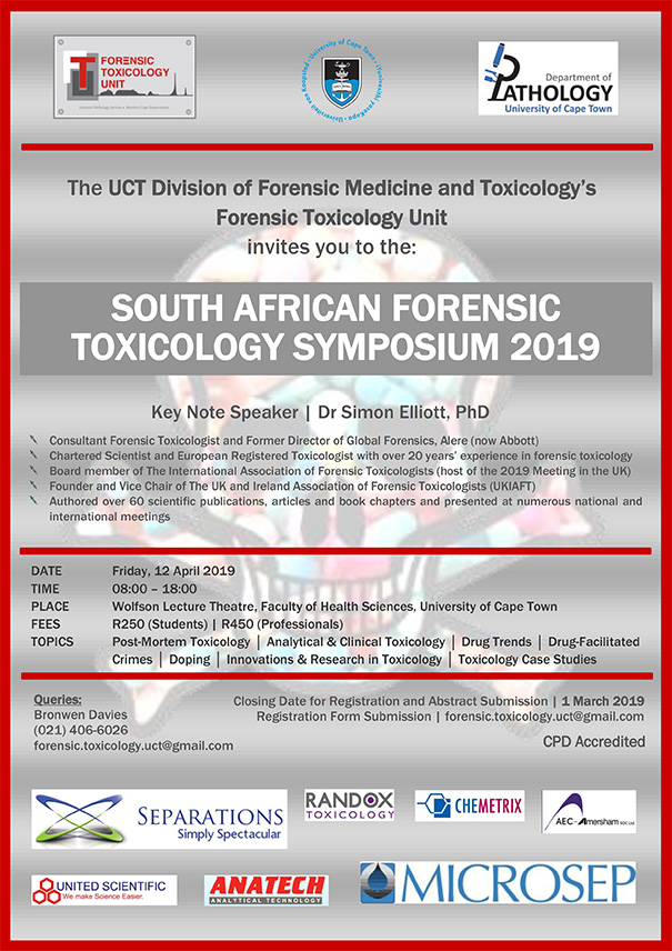 Toxicology Symposium 2019 | Division of Forensic Medicine